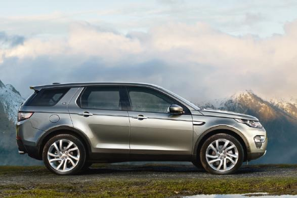 Der Land Rover Discovery Sport